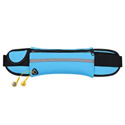 Blue Stylish Waterproof Outdoor 6-inch Waist Bag   Running Sports Accessories   Phone Accessories   iCoverLover