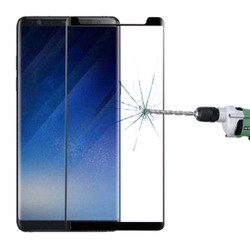 Black Tempered Glass Samsung Galaxy Note 8 Screen Protector | Protective Samsung Galaxy Note 8 Screen Protectors | Strong Samsung Galaxy Note 8 Glass Screen Protector | iCoverLover