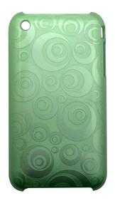 Green Geometrical Circles iPhone 3, 3GS Case   Best iPhone Cases   Best iPhone Covers   iCoverLover