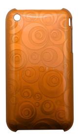 Orange Geometrical Circles iPhone 3, 3GS Case   Best iPhone Cases   Best iPhone Covers   iCoverLover