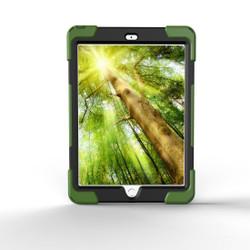Army Green Hand-strap Armor iPad 2017 9.7-inch Case   Armor iPad 2017 Cases    Armor iPad 2017 Covers   iCoverLover
