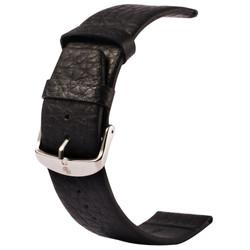 Black Apple Watch 1,2,3,4(40mm,38mm) Buffalo Hide Genuine Leather Watch Band | Genuine Leather Apple Watch Bands | iCoverLover
