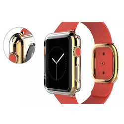 Apple Watch 1,2,3,4(40mm,38mm) Transparent Crystal TPU Protective Case   Silicone Sports Apple Watch Cases   iCoverLover