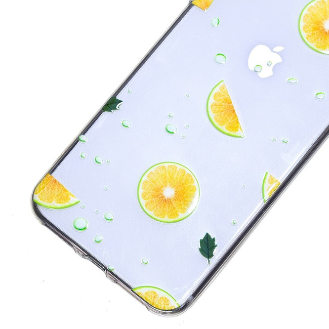 iPhone XS Max Navel Orange Pattern Highly Transparent Soft TPU Protective Cover | Protective Apple iPhone XS Max Covers | Protective Apple iPhone XS Max Cases | iCoverLover