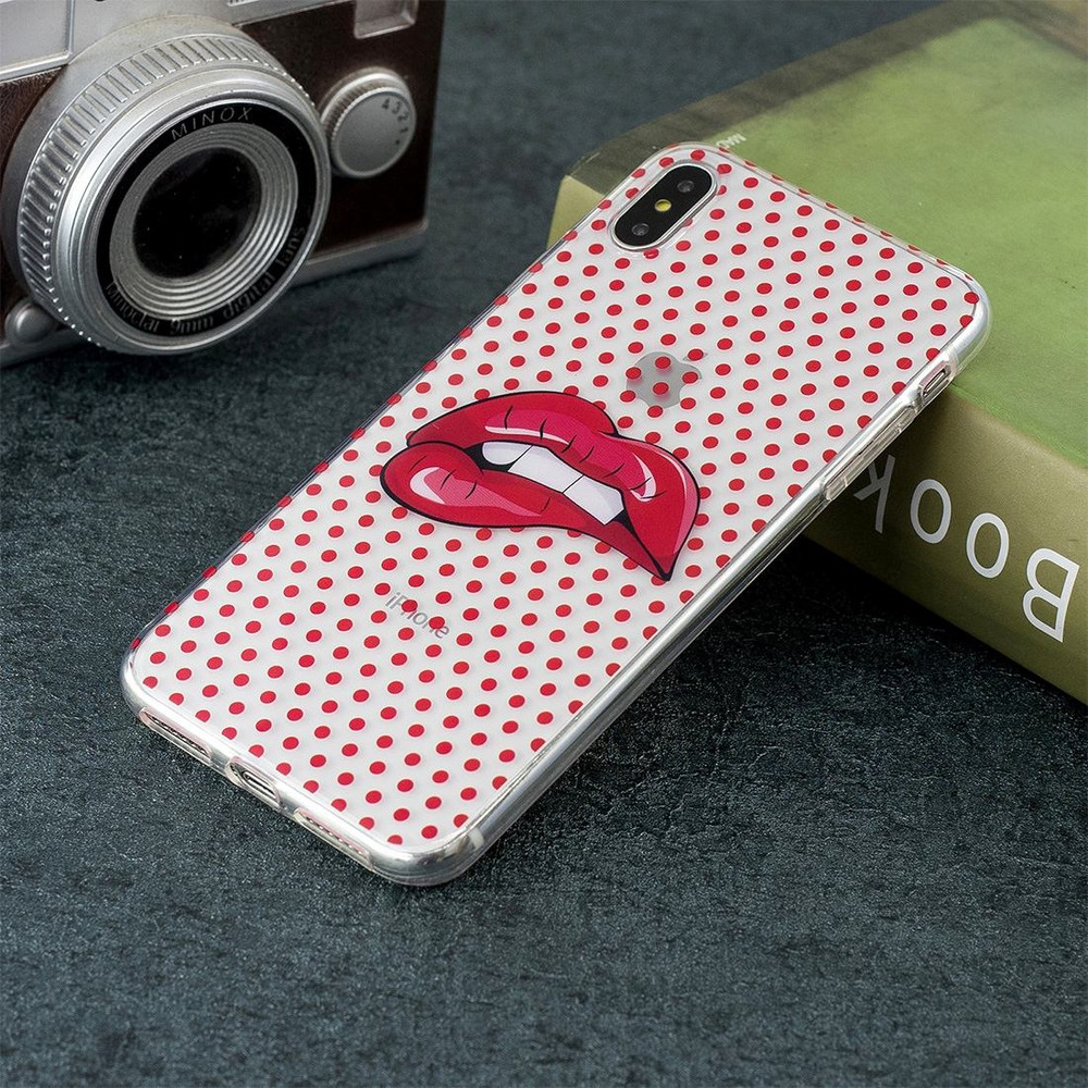 iphone xs max case lips