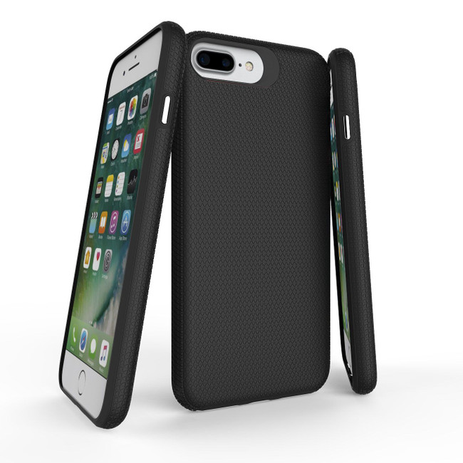 Black Armor iPhone 8, 7, 6 & 6S Case | Protective iPhone Cases | Protective iPhone 8, 7, 6 & 6S Covers | iCoverLover