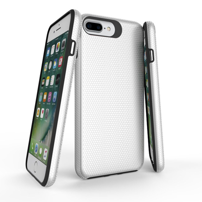 Silver Armor iPhone 8, 7, 6 & 6S Case | Protective iPhone Cases | Protective iPhone 8, 7, 6 & 6S Covers | iCoverLover