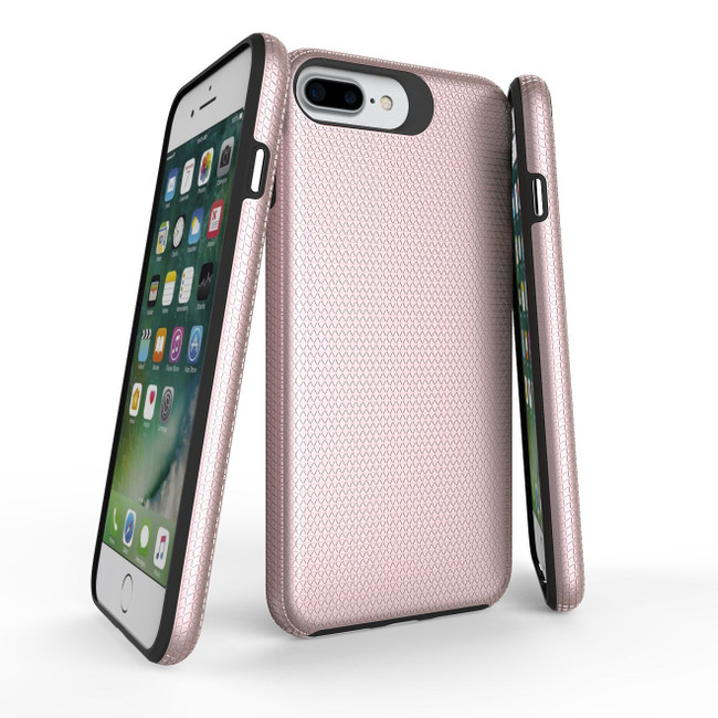 Rose Gold Armor iPhone 8, 7, 6 & 6S Case | Protective iPhone Cases | Protective iPhone 8, 7, 6 & 6S Covers | iCoverLover