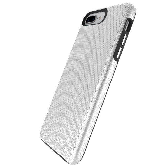 Silver Armor iPhone 6 PLUS & 6S PLUS Case | Protective iPhone Cases | Protective iPhone 6 PLUS & 6S PLUS Covers | iCoverLover