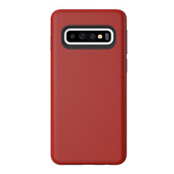 Samsung Galaxy S10 Case Red Ultra Thin Shockproof PC+TPU Armour Back Cover | Armor Samsung Galaxy S10 Covers | Armor Samsung Galaxy S10 Cases | iCoverLover