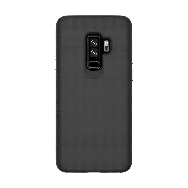 Black Shockproof Protective Samsung Galaxy S9 PLUS Case | Armor Samsung Galaxy S9 Plus Cases | Shielding Samsung Galaxy S9 Plus Covers | iCoverLover