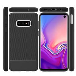 Black Snap Armour Protective Samsung Galaxy S10e Back Case | Snap Armour Samsung Galaxy S10e Cases | Shielding Samsung Galaxy S10e Covers | iCoverLover