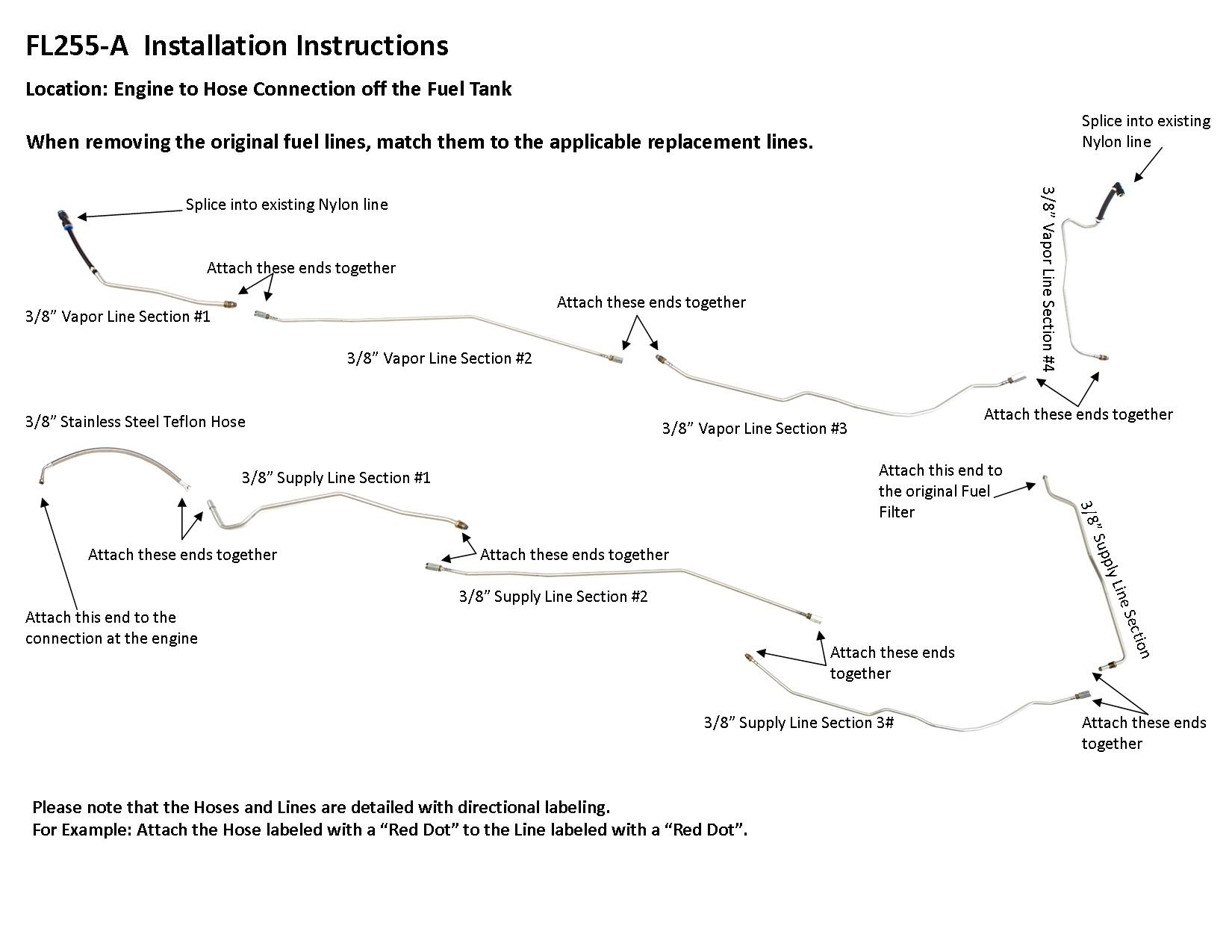 FL255-A Installation Instructions - Lines To Go [ 1275 x 1650 Pixel ]