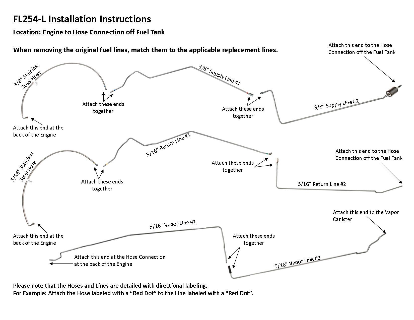 1997 buick lesabre 3 8l engine diagram fl254 l installation instructions lines to go  fl254 l installation instructions