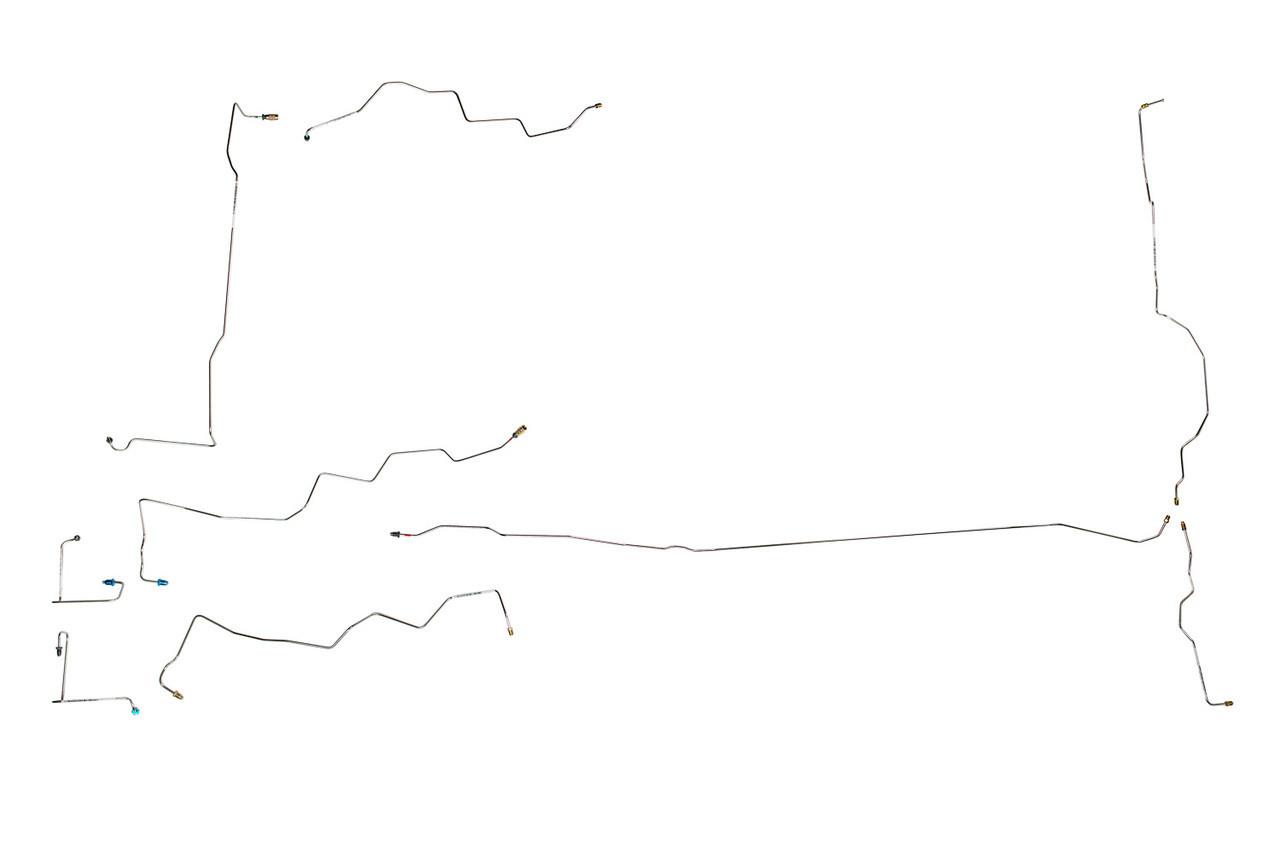 1999 Jeep Grand Cherokee Brake Line Diagram
