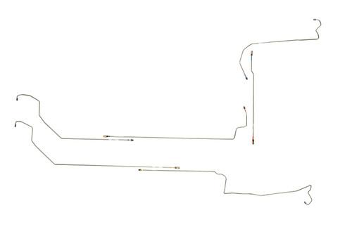 acura tl brake line section 1999 4 door