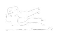 Sierra Brake Line 2003 K1500 Reg Cab 8ft 4WD w/5 Port System