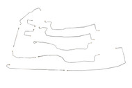 """Yukon XL Brake Line Set 2003 C/K1500 2WD & 4WD w/5 ABS Line Ports 130"""" WB"""