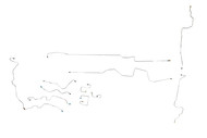 Dakota Brake Line 2002 2WD Club Cab, 6.5ft w/Rear Wheel Anti-lock Brakes RPO Code BGJ