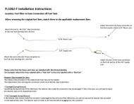 FL1062-F Installation Instructions
