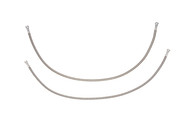 Stainless Steel Braided Teflon Hoses between fuel filter and fuel pump 2002 Deville 4 Door