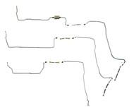 Sierra Fuel Line 2001 C/K2500 Reg Cab 8 ft bed 6.0L FL488-D2A Set