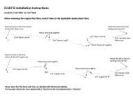 FL507-E Installation Instructions