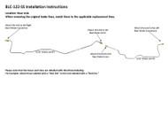 BLC-122-SS Installation Instructions