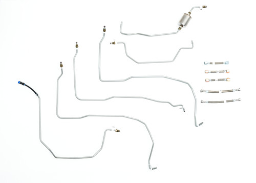 2003 escalade fuel lines