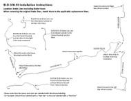 BLD-106-SS Installation Instructions