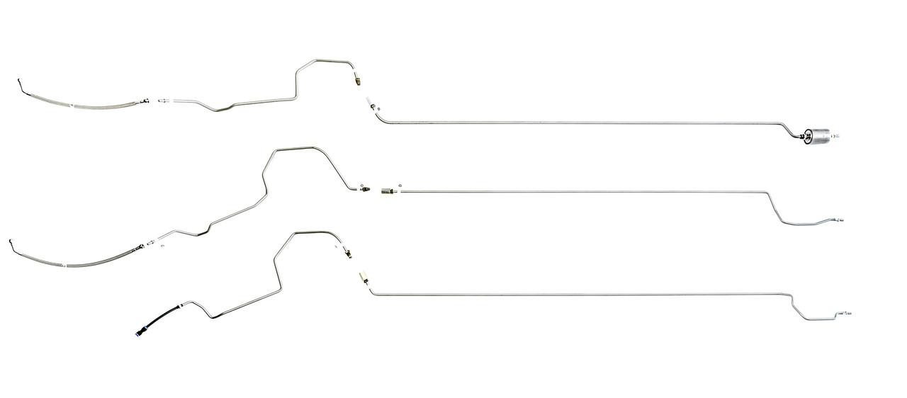 chevy impala base fuel line 2000 3 4l (e)
