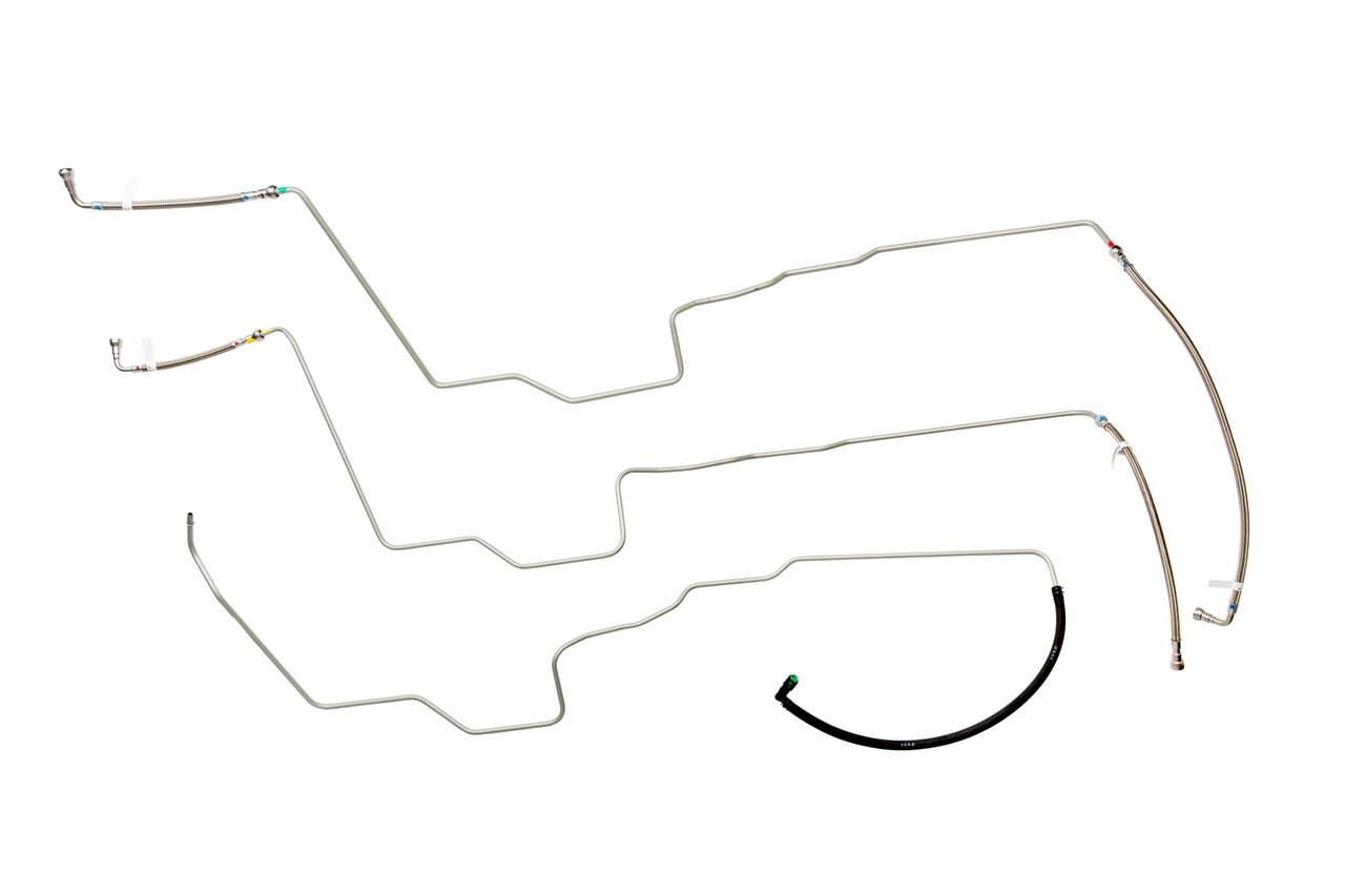 fl446-b4 pre-bent replacement fuel line set