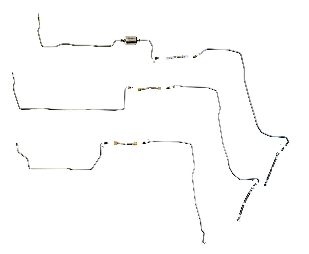 silverado fuel line 2001 c/k2500 reg cab 8 ft bed 6 0l