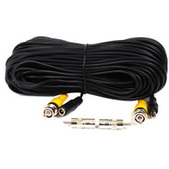 100 Feet Video Power BNC RCA Cable for CCTV Security Cameras