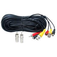 100' BNC RCA Camera AV Cable ACBVA100