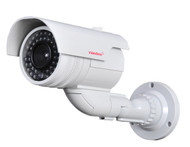 Fake Dummy Security Camera Flashing Light DMYIRV2