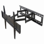 "VideoSecu Tilt Swivel TV Wall Mount 32""- 70"" LCD LED Plasma TV with VESA 200x200,400x400,up to 600x400 mm, Full Motion Articulating Dual Arm Mount Fits up to 24"" Studs, Free HDMI Cable MW365B2H C20"