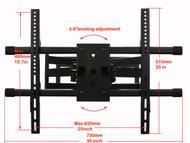Full Motion TV Wall Mount MW380B2