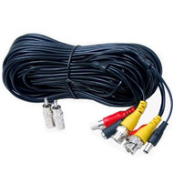 100 Feet HD Audio Video Power Security Camera Cable ACBHD100
