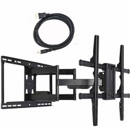 24 inch Extension Full Motion Swivel Articulating TV Wall Mount MW480B