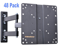 VideoSecu 48 Pack ML510B Articulating Arm LCD LED TV Wall Mount VESA 100 200 48XML510B