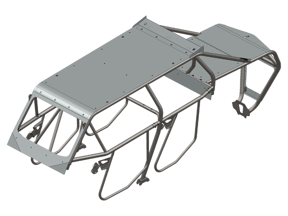 Magnum Offroad MX1-4 Polaris RZR XP1000 Cage System