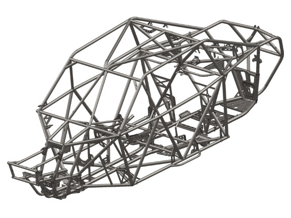 Magnum Offroad MSX-1 Competition Series Polaris RZR XP1000-4 Desert Race Chassis Package