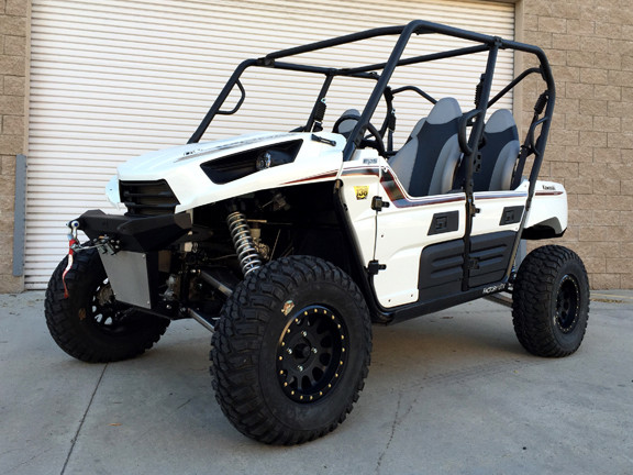 Magnum Offroad Kawasaki Teryx Teryx Long Travel Suspension System on Lifted Magnum