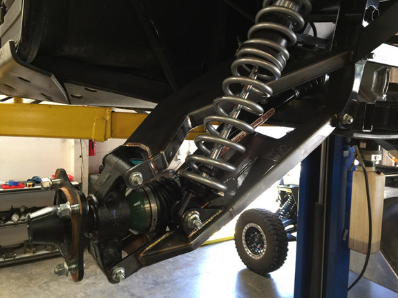 Magnum Offroad Kawasaki Teryx 4 Explorer Series Long Travel Suspension System