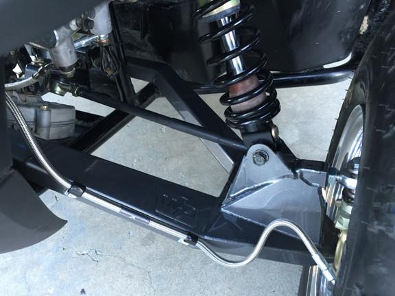 Polaris RZR 170: Long Travel Suspension System