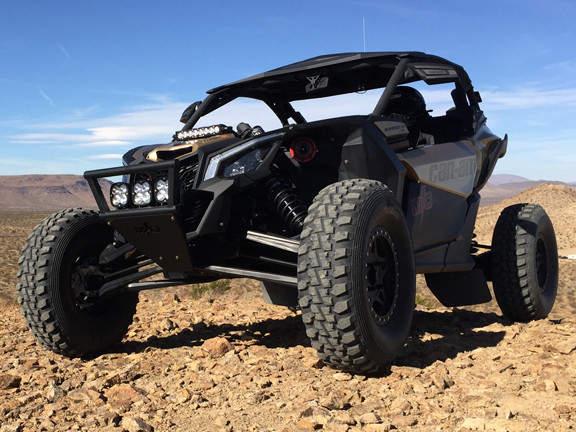 Magnum Offroad Can-Am Maverick X3 Front Race Bumper