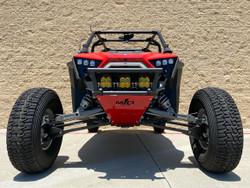 Polaris RZR Pro XP Front Race Bumper: Magnum Offroad