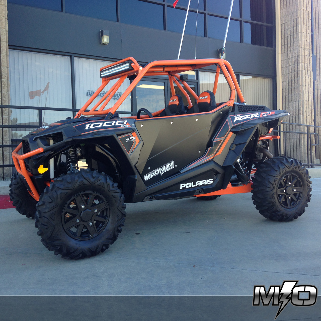 Polaris Rzr 1000 Turbo >> Polaris RZR XP 1000: Feather Lite Roll Cage System - Magnum Offroad