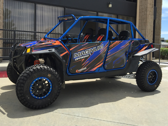 Polaris Rzr Xp 4 900 Mx4 Roll Cage System Magnum Offroad